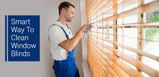 Smart Way To Clean Window Blinds