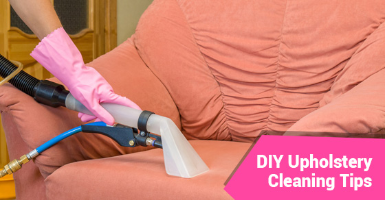 DIY Upholstery Cleaning Tips