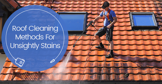Roof Cleaning Methods For Unsightly Stains