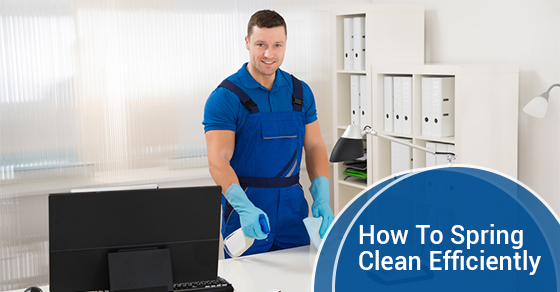 How To Spring Clean Efficiently