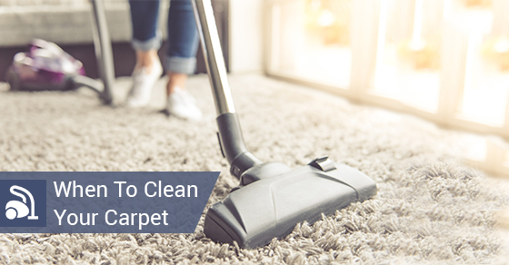When To Clean Your Carpet