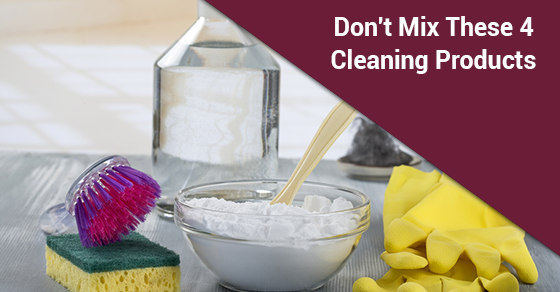 Don't Mix These 4 Cleaning Products