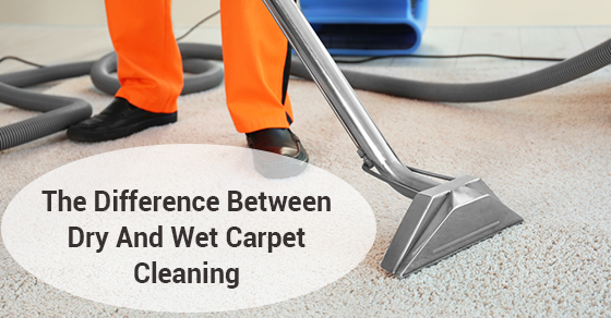 The Difference Between Dry And Wet Carpet Cleaning