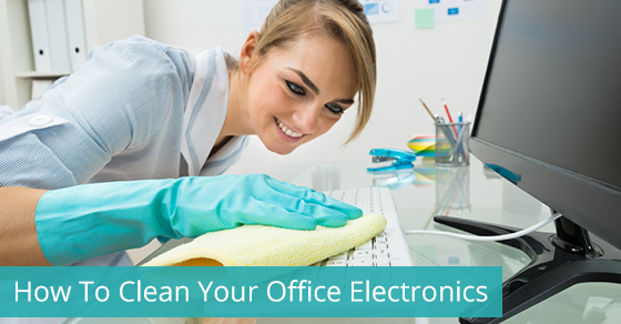 How To Clean Your Office Electronics
