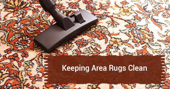 Keeping Area Rugs Clean