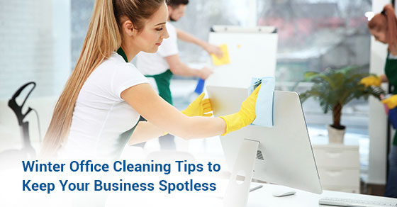 Winter Office Cleaning Tips