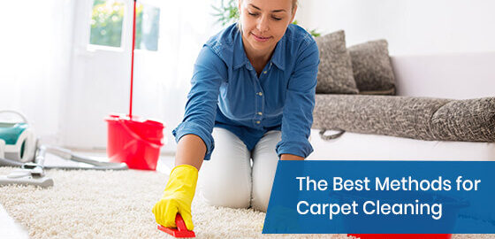 What are the best methods for carpet cleaning?